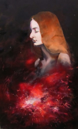 Body. Oil on panel, 2011.