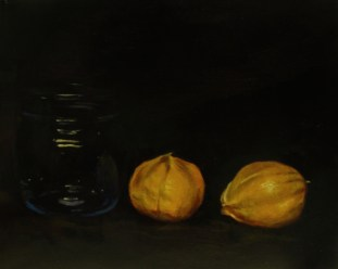 Tomatillos. Oil on panel, 2013.