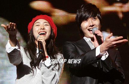 2007 11 16 My Love Showcase singing 2