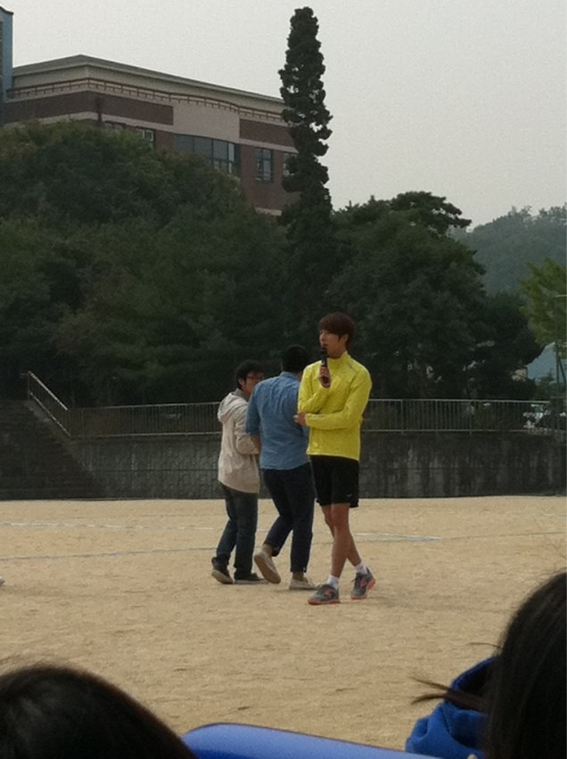 2011 10 09 Jung II-woo Athletic Fan Meeting Unknown Credit00004
