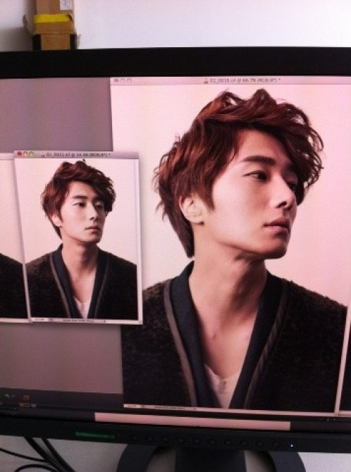 2011 11 Jung II-woo for First Look Magazine BTS 2