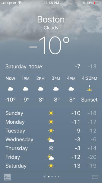 Boston Weather 12 30 17 Celsius