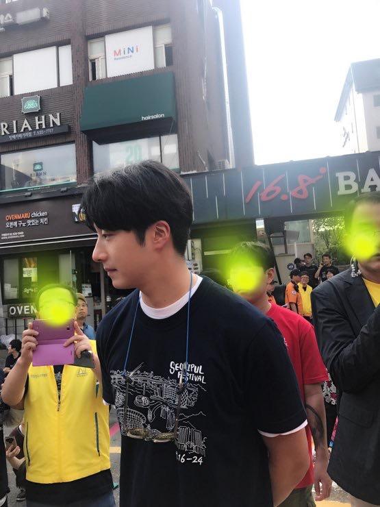 Jung II-woo at the Seoripul Festival 5
