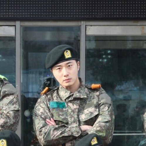 Jung II-woo during Military Basic Training 2.jpg