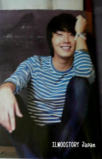 2011 11 Jung II-woo in Haru Hana Magazine 00002