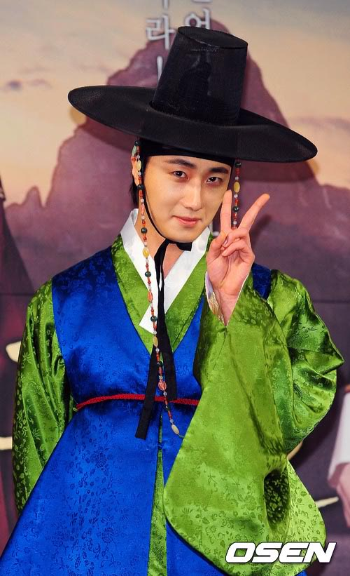 2012 1 2 Jung II-woo in The Moon that Embraces the Sun Press Conference 00012