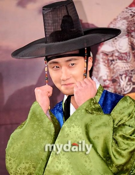 2012 1 2 Jung II-woo in The Moon that Embraces the Sun Press Conference 00014