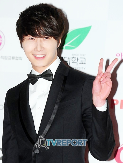 2012 1 18 Jung II-woo in Asia Model Awards 00003