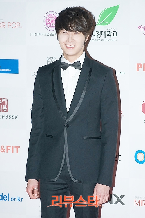 2012 1 18 Jung II-woo in Asia Model Awards 00013