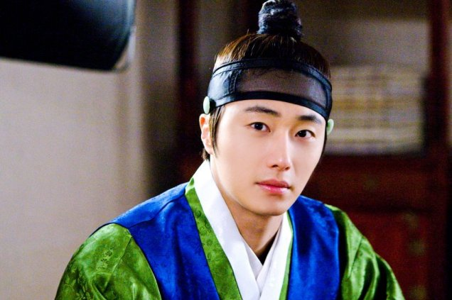 2012 Jung II-woo in The Moon Embracing the Sun Episode 6 Extras BTS 00020