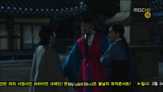 Jung II-woo in The Moon that Embraces the Sun Episode 17 00039