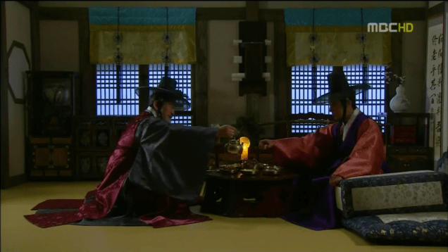 Jung II-woo in The Moon that Embraces the Sun Episode 18 00045
