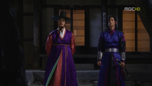 Jung II-woo in The Moon that Embraces the Sun Episode 19 00018
