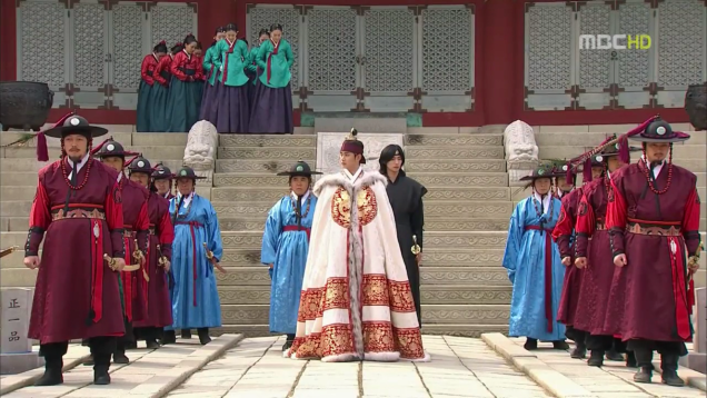 Jung II-woo in The Moon that Embraces the Sun Episode 19 00022