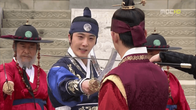 Jung II-woo in The Moon that Embraces the Sun Episode 19 00028