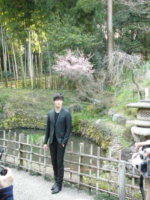 2012 4 9 Jung II-woo at Koma Temple in Hidaka Japan. Special Lunch, etc.00005