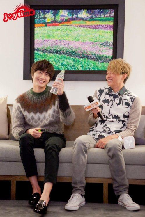 2012 10 23 Jung II-woo travels to Taiwan. I love JK Program 00001
