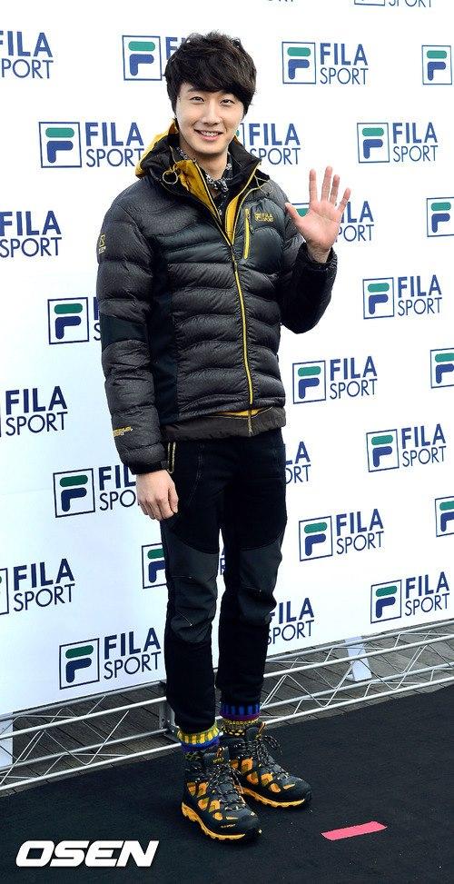 2012 11 3 Jung II-woo for FILA's Green Campaign00014