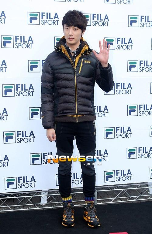2012 11 3 Jung II-woo for FILA's Green Campaign00016
