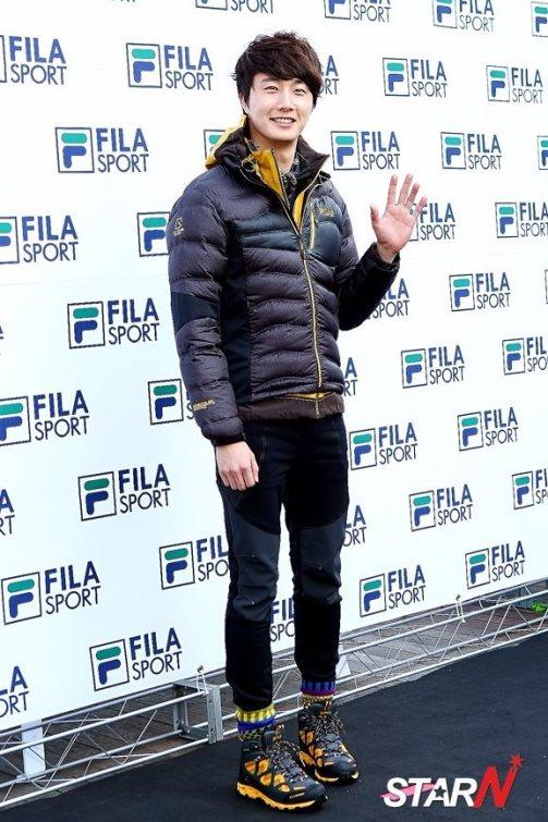 2012 11 3 Jung II-woo for FILA's Green Campaign00020