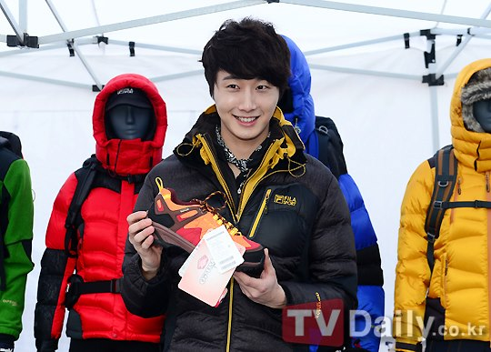 2012 11 3 Jung II-woo for FILA's Green Campaign00024