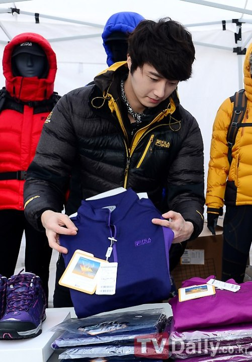 2012 11 3 Jung II-woo for FILA's Green Campaign00025