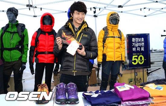 2012 11 3 Jung II-woo for FILA's Green Campaign00033