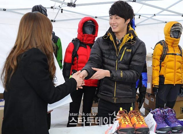 2012 11 3 Jung II-woo for FILA's Green Campaign00038