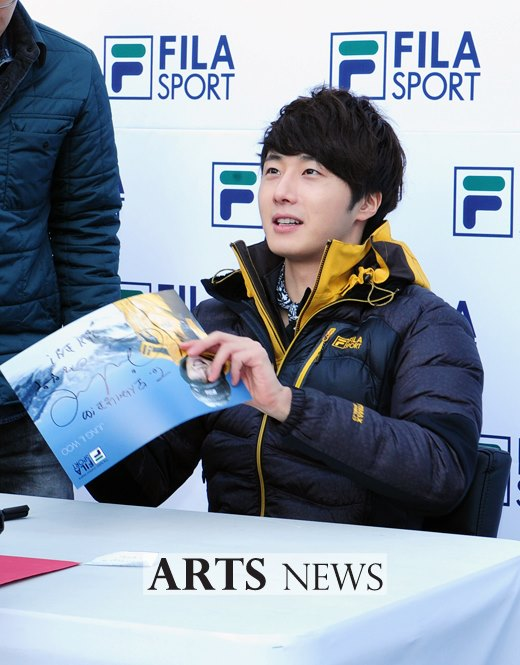 2012 11 3 Jung II-woo for FILA's Green Campaign00064