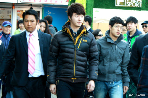 2012 11 3 Jung II-woo for FILA's Green Campaign00068