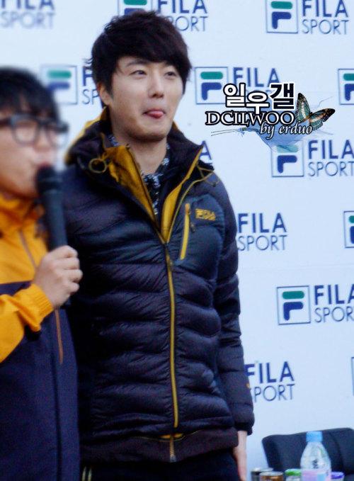 2012 11 3 Jung II-woo for FILA's Green Campaign00079