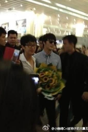 2012 6 15 Jung II-woo Shanghai Airport arrival00005