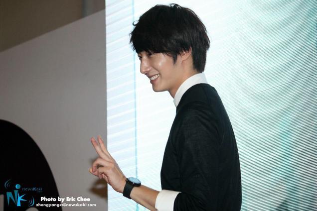 2012 9 23 Jung II-woo in Holika Holika's Fan Meet in Malaysia 00030
