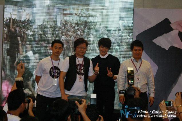 2012 9 23 Jung II-woo in Holika Holika's Fan Meet in Malaysia 00050