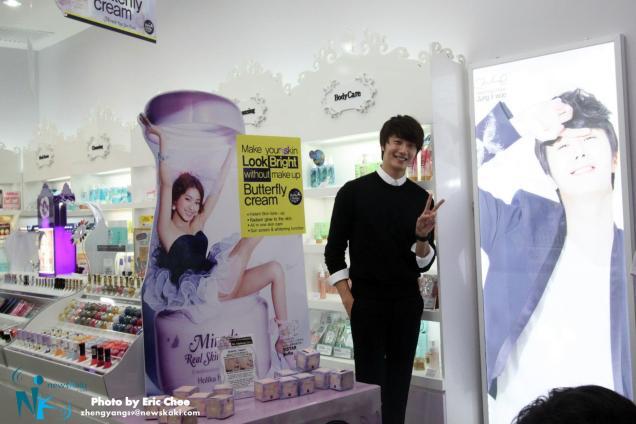 2012 9 23 Jung II-woo in Holika Holika's Fan Meet in Malaysia 00121
