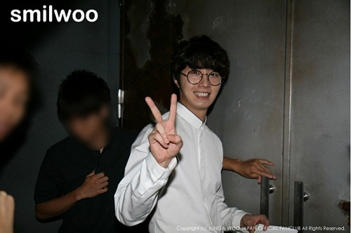 2012 9 9 Jung II-woo practicing for Smilwoo's Inauguration: Fanmeet Birthday 00002