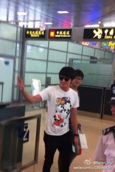 JUNG IL WOO Leaving Shanghai, June 2012 00003