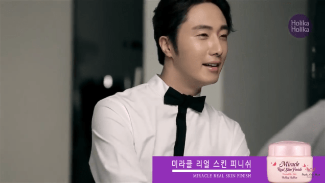 2013 10 9 Jung II-woo (and Park Shin-hye) for Holika Holika Take 2 00008