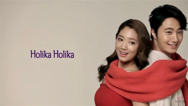2013 10 9 Jung II-woo (and Park Shin-hye) for Holika Holika Take 2 00013