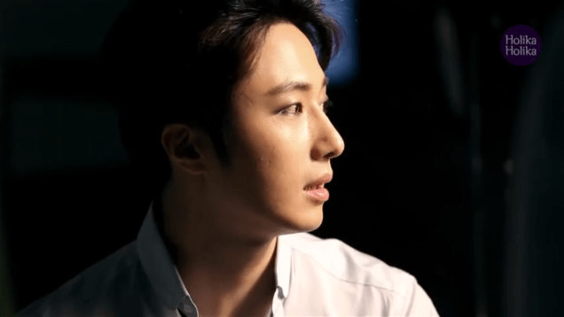 2013 10 9 Jung II-woo (and Park Shin-hye) for Holika Holika Take 2 00017