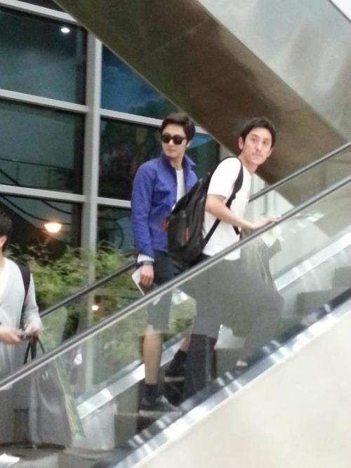2013 2 22 Jung II-woo in Holika Holika Event in Myanmar (Airport Arriving back in Seoul) 00013
