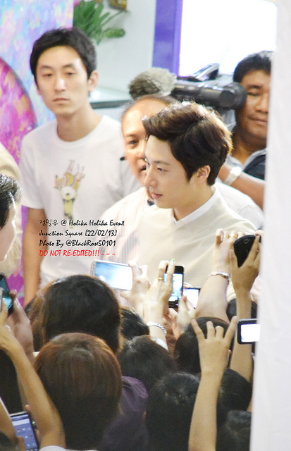 2013 2 22 Jung II-woo in Holika Holika Event in Myanmar (Junction Square) Credit: Ellen Kim (@ blackrose50101) Please DO NOT PUBLISH IN ANY MEDIA AND DO NOT RE-EDIT IF USING IN A FAN SI