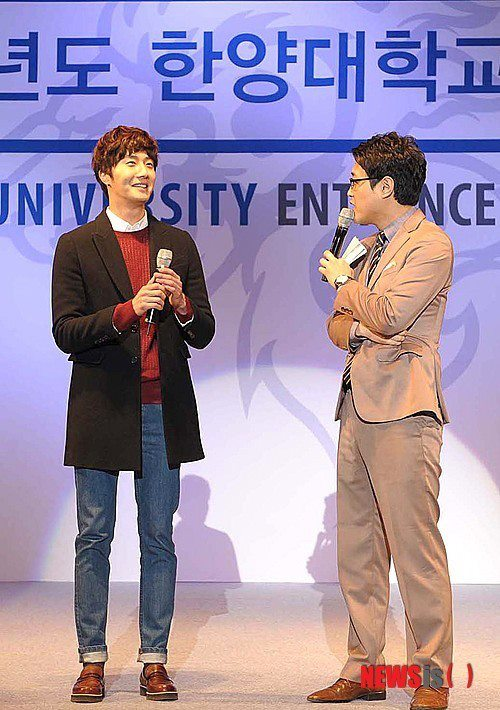 2013 2 27 Jung II-woo at Hanyang University's Entrance Ceremony 00002