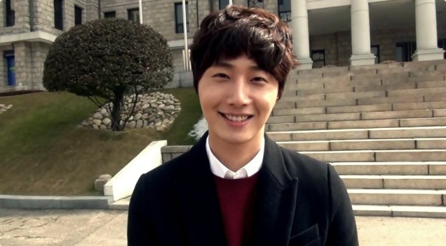 2013 2 27 Jung II-woo at Hanyang University's Entrance Ceremony