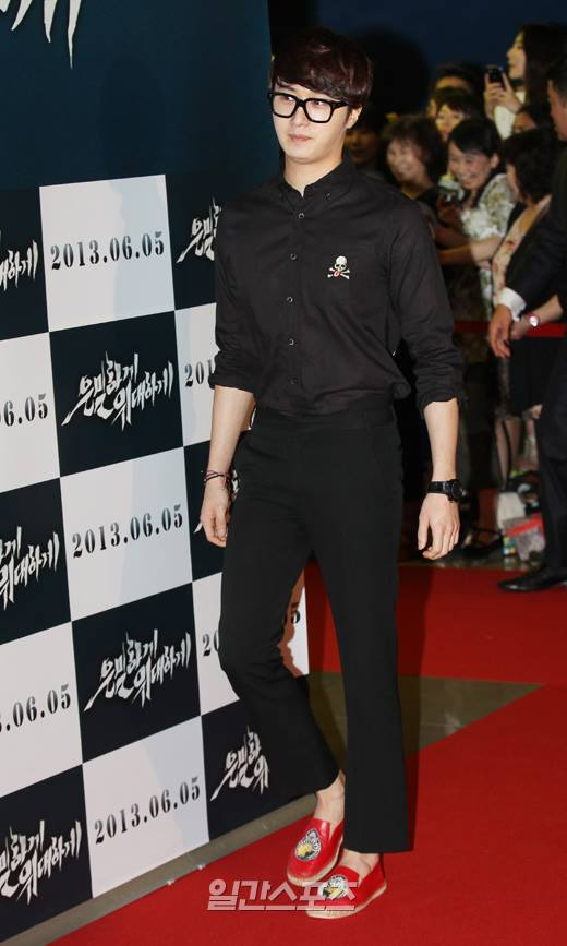 2013 5 Jung II-woo at the VIP Premiere of the Movie Greatly in Secret00002