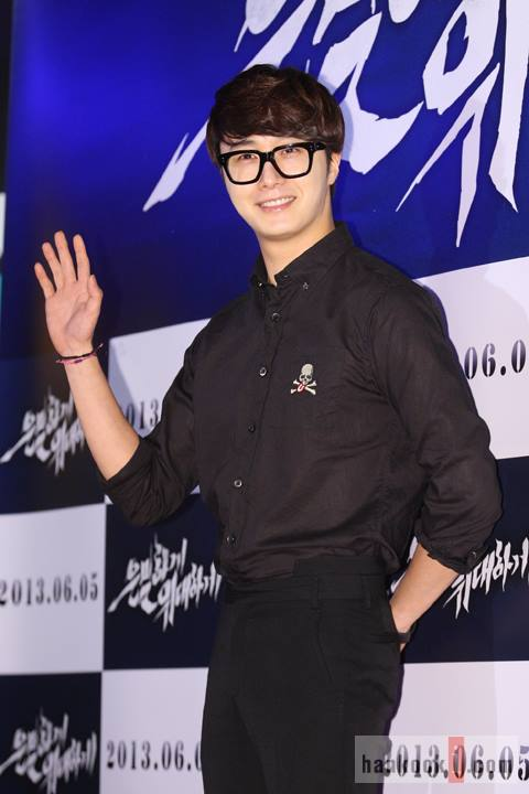 2013 5 Jung II-woo at the VIP Premiere of the Movie Greatly in Secret00015