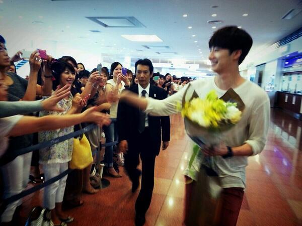 Japanese Fan Meeting Happy Smilwoo Arrival in Japan