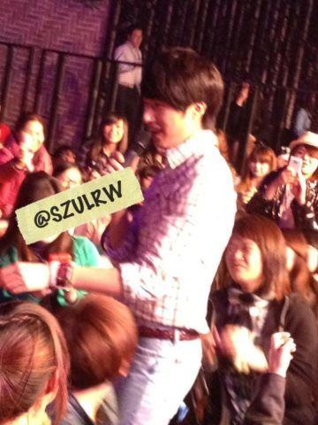 Jung II-woo at Taiwan's Fan Meeting 2012 12 8 Taken by Fans00001