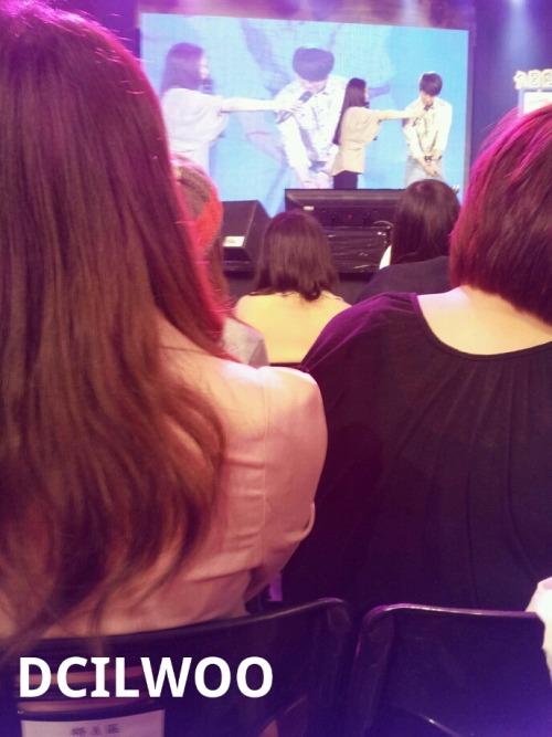 Jung II-woo at Taiwan's Fan Meeting 2012 12 8 Taken by Fans00002