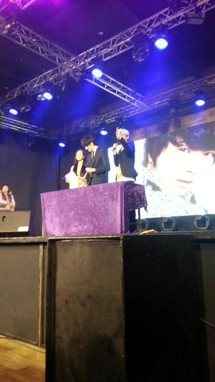 Jung II-woo at Taiwan's Fan Meeting 2012 12 8 Taken by Fans00008